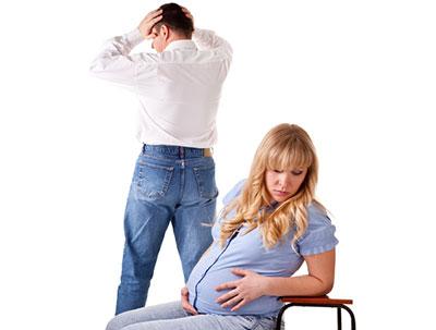Развод если новорожденный