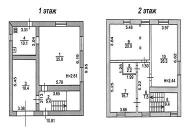 Создания поэтажного плана жилого помещения